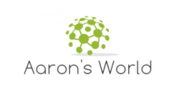 Aaron's World's logo