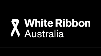 White Ribbon Australia's logo