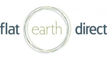 flat earth direct's logo