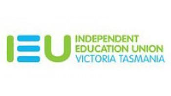 Independent Education Union Victoria Tasmania's logo
