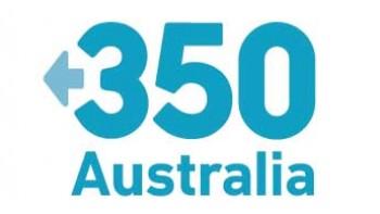 350.org Australia's logo