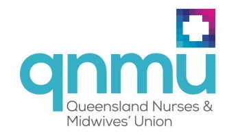 Queensland Nurses and Midwives' Union's logo