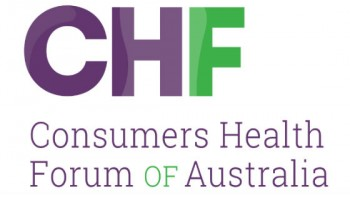 Consumers Health Forum of Australia's logo