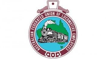 Australian Federated Union of Locomotive Employees's logo