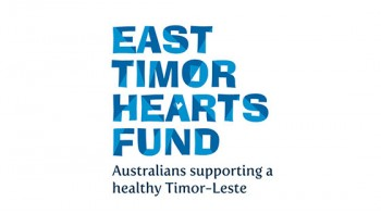 East Timor Hearts Fund's logo