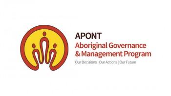 Aboriginal Governance and Management Program's logo