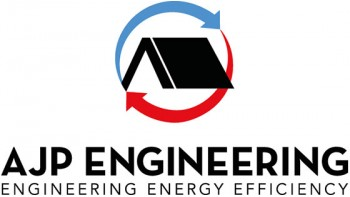 AJP Engineering's logo