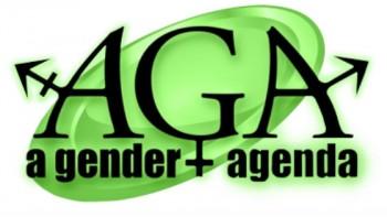 A Gender Agenda (AGA)'s logo