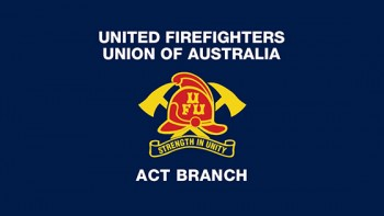 United Firefighters Union ACT Branch's logo