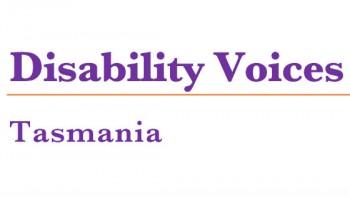 Disability Voices Tasmania's logo