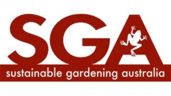 Sustainable Gardening Australia (SGA)'s logo