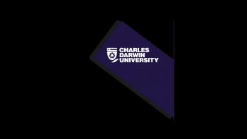 Charles Darwin University's logo