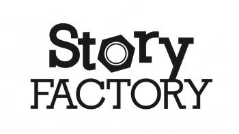 Story Factory's logo