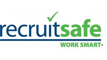 Recruit Safe's logo