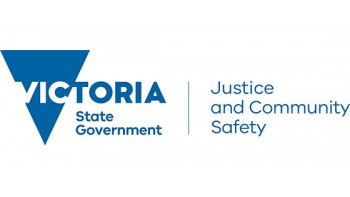 Department of Justice and Community Safety's logo
