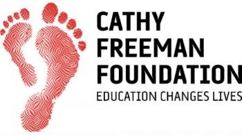 Cathy Freeman Foundation's logo