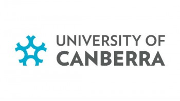 University of Canberra's logo