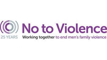No To Violence 's logo