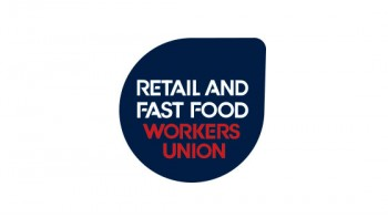 Retail and Fast Food Workers Union's logo