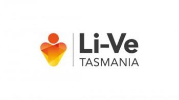 Li-ve Tasmania's logo