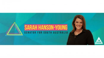 Office of Senator Sarah Hanson-Young's logo