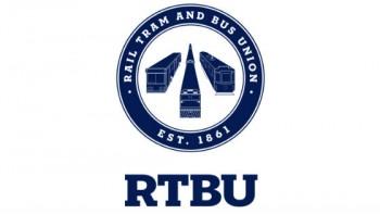 Rail Tram & Bus Union's logo