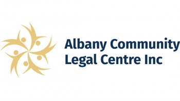 Albany Community Legal Centre's logo