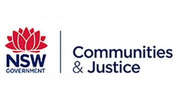 Department of Justice NSW's logo
