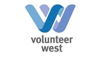 Volunteer West's logo
