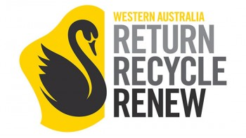 WA Return Recycle Renew's logo