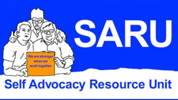 Self Advocacy Resource Unit's logo
