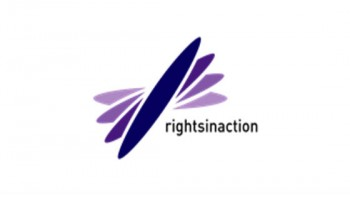 Rights In Action's logo