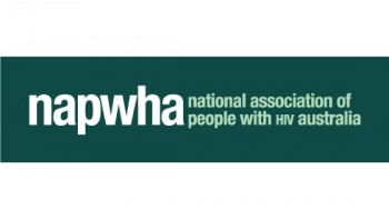 National Association of People With HIV Australia (NAPWHA)'s logo
