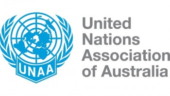 United Nations Association of Australia's logo