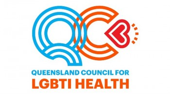 The Queensland Council for LGBTI Health's logo