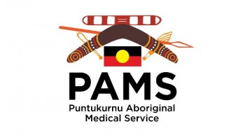 Puntukurnu Aboriginal Medical Service (PAMS)'s logo