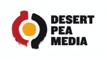 Desert Pea Media's logo