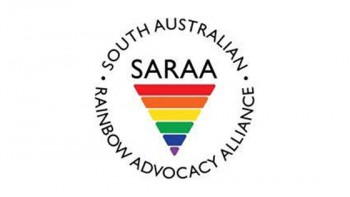 South Australian Rainbow Advocacy Alliance's logo