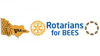 Rotarians for Bees's logo