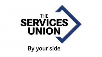 The Services Union's logo