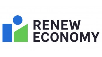 RenewEconomy's logo