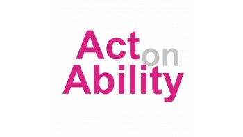 Act on Ability's logo
