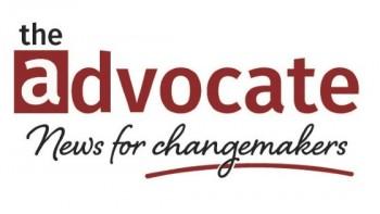 The Advocate's logo