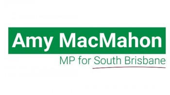 Office of Amy MacMahon, MP for South Brisbane's logo