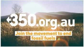 Fossil Free SA (350 Australia)'s logo