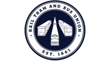 The Rail, Tram and Bus Union Queensland Branch's logo