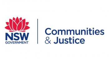 NSW Department of Communities and Justice's logo