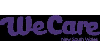 We Care NSW's logo