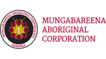Mungabareena Aboriginal Corporation 's logo