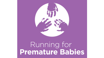 Running for Premature Babies's logo